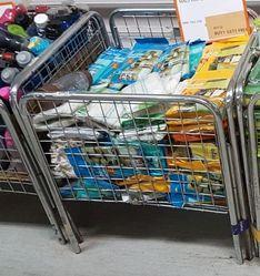 SS Floor Basket, Retail, Shopping Stores, Malls