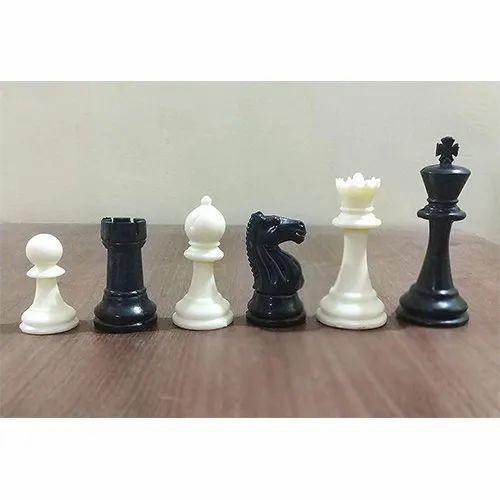 Tournament Professional Fide Standards Plastic Chess Pieces Set