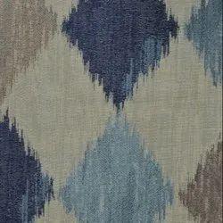 54 Inch Navy Nancy Fabric