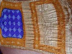 Wedding Wear Pure Gajji Silk Bandhej Saree