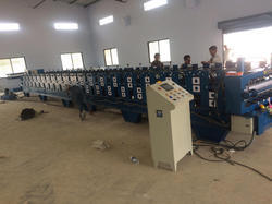 Double Fold Cum Roll Forming Machine