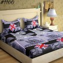 Online sale for 3D Designer Bed Sheet in panpat