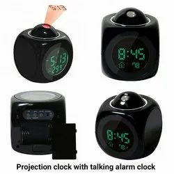 Focus Plasitc Projection Clock