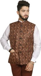 Cotton Blend SG Leman Waist Coat, Size: 36-42