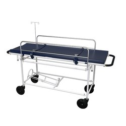 Hospital Hydraulic Trolley - (HTR - 503) - Trolley With Space For Oxygen Cylinder