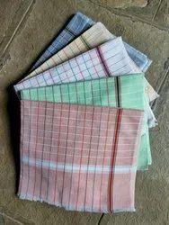 Checks Multicolor Plain Check 30x60Towel