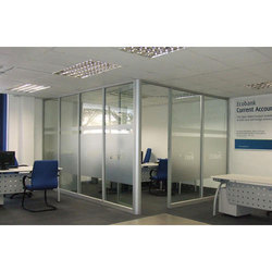Office Glass Partition at Rs 450 /square feet | Glass Partition ...