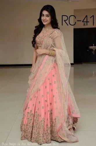 Wedding Bollywood Ladies Party Wear Lehenga Choli Rs 1200 Piece Id 20573981288