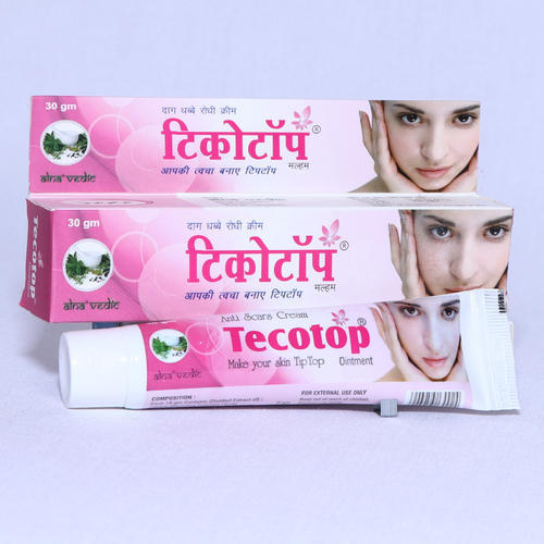 Tecotop Ointment Scars Removal Cream ए ट म र क स