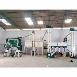 150 Ton Industrial Flour Mill Machine