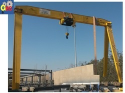 Mild Steel Single Grider Gantry Cranes