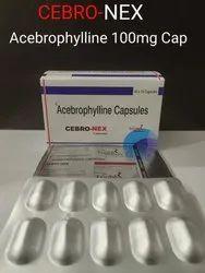 Acebrophylline 100mg Capsule