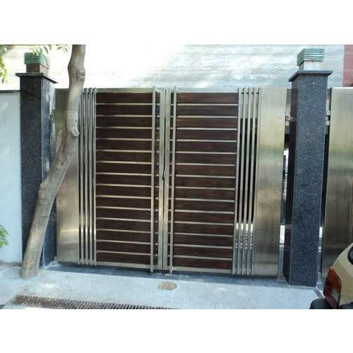 Designer Main Gate धातु से बना गेट मेटल गेट Vedant