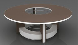 Round Conference Table.