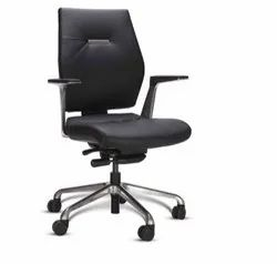 Leather Office Chair - Godrej Sedna