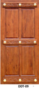 Ddt-09 Teak Wood Doors