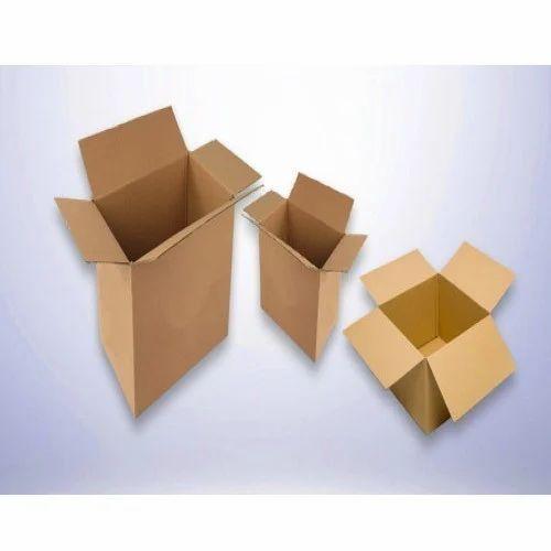 Regular Slotted Corrugated Box