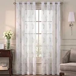 52 x 90 inch Emily Ivory Sheer Curtain
