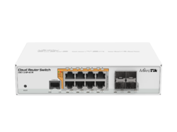CRS-112-8P-4S-IN Mikrotik Switch