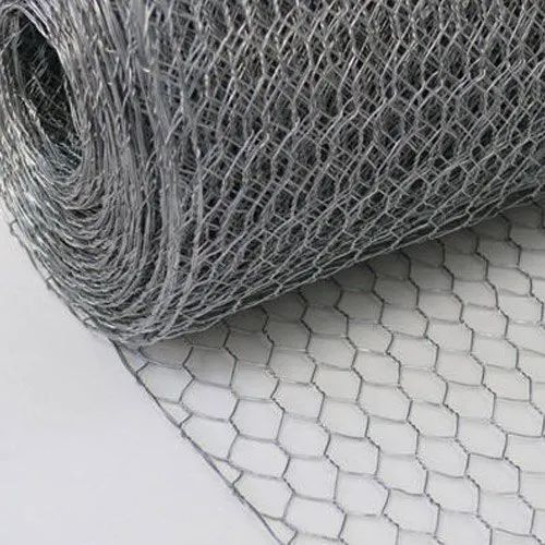 Stainless Steel Woven Hexagonal Wire Mesh, For Industrial, Thickness: 0.1 To 5 Mm