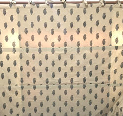 Horizontal Printed Window Blind Curtain, Size: 170x100 Cm