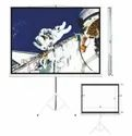 Black Tripod Projection Screen, For Commercial