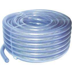 White  PVC Braided Hose