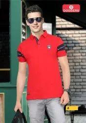 Pk Lycra Men's Collar T-Shirt