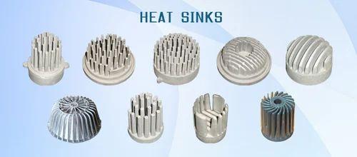 Aluminium, Copper Heat Sinks