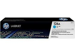 HP CE311A 126A Cyan Toner Cartridge