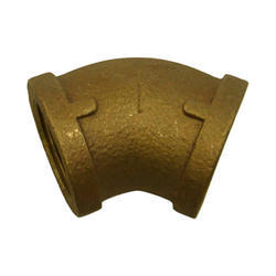 45 Degree Bronze Elbows, Structure Pipe
