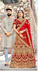 PR Fashion New Heavy Designer Bridal Lehenga