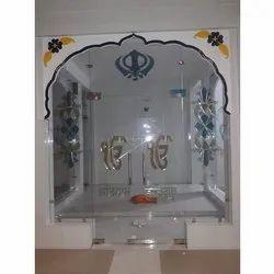 Hinged Printed Glass Door