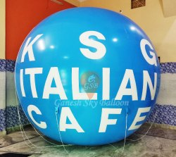 Italian Cafe Sky Balloon