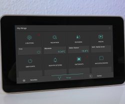 Touchscreen Control Panel