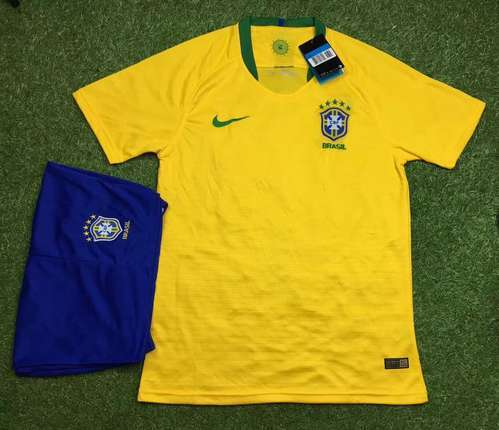c52f94065 Nike And Puma Football Jersey Brazil Home Away Kit, Rs 699 /piece ...
