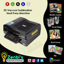 Leather 3d Sublimation Machine For Mobile Covers Printing Business
