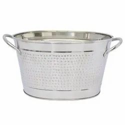 Stainless Steel Oval Beverage Party Tub