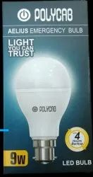 Polycab Emergency Bulb For Home, Base Type: B22