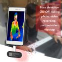Human Body Temperature Measurement and Face Detection
