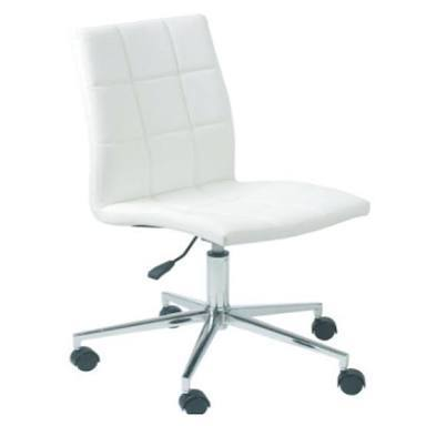 Leather Office Armless Chair