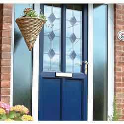 Coloured UPVC Door