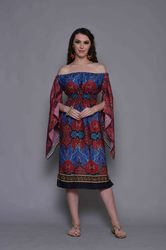 Open Shoulder Kaftan