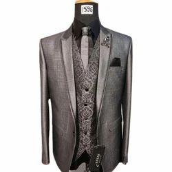 Regular Fit Men's Designer Suit