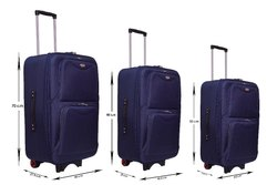 Rainbow Platina  Nevi Luggage Trolley Bag
