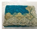 Heavy Diamond Saree