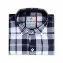 Mens Solid Check Shirt
