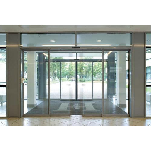 Automatic Sliding Glass Door at Rs 250 square feet 132 Feet Ring