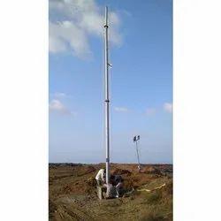 High Rise CCTV Camera Pole
