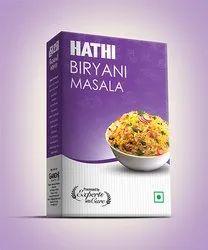 Hathi Biryani Masala, Packaging Size: 50 g, Packaging Type: Box